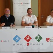 Erste Pressekonferenz zum Triathlon