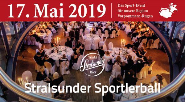 1. Stralsunder Sportlerball & Gewinnspiel