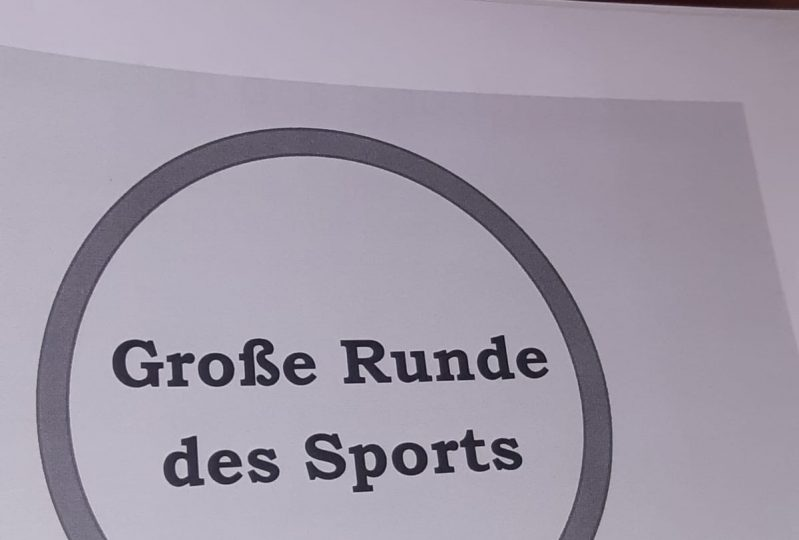 Große Runde des Sports