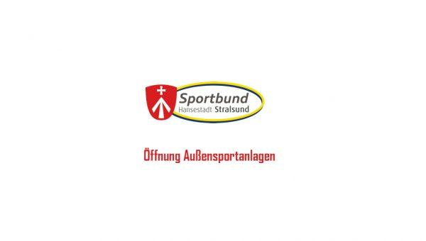 Öffnung Außensportanlagen