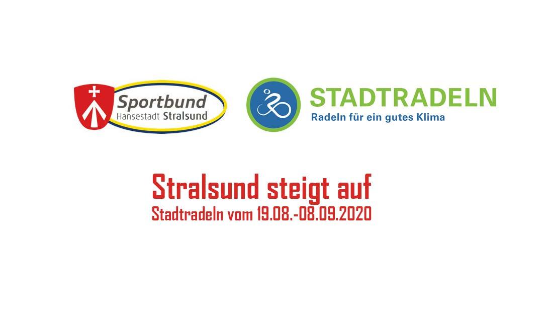 Stralsund steigt auf – Stadtradeln vom 19.08.-08.09.2020