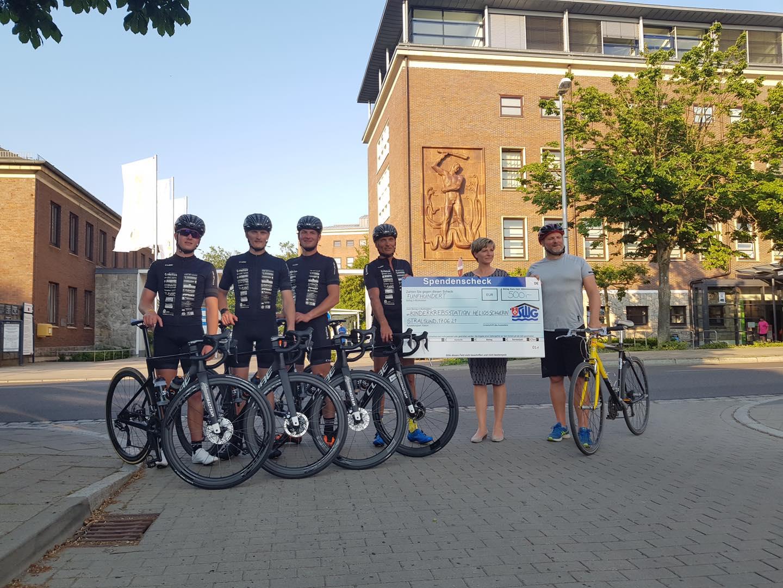 500 km Tour durch MV für Schweriner Kinderkrebsstation